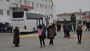 Yolcu otobüsünde büyük panik Yolcunun koronavirüs testi pozitif çıkınca 16 kişi karantinaya alındı