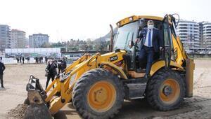 Giresun'da 'plajlar bölgesi projesi' start aldı