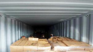 3 konteynerde 100e yakın kişi bulundu Bir gün boyunca havasız kalmışlar
