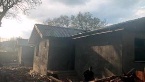 Dünya Dostluk ve Barış Köyünde kaçak inşaat tepkisi