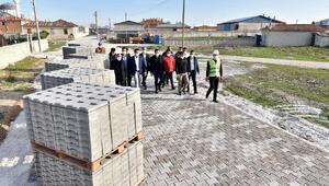 Karatay Belediyesinin kilit parke taşındaki hedefi 1 milyon metrekare