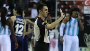 Türk hakem Kerem Baki, FIBA Avrupa Kupası Dörtlü Finalde düdük çalacak