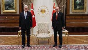 Cumhurbaşkanı Erdoğan, BM Genel Kurul Başkanı Volkan Bozkırı kabul etti
