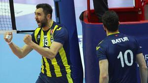 Arkas Spor: 0 - Fenerbahçe HDI Sigorta: 3
