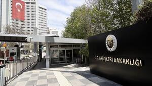 Çin Büyükelçisi Dışişleri'ne çağrıldı