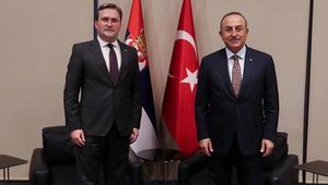 Dışişleri Bakanı Çavuşoğlu, Sırp mevkidaşı Selakoviçle görüştü