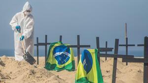 Son dakika haberi: Brezilyada korkunç tablo Ölenlerin sayısı ilk kez 4 bini geçti
