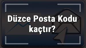 Düzce Posta Kodu kaçtır Düzce ili ve ilçelerinin Posta Kodları
