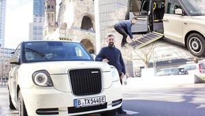 Berlin'de Londra taksisi Kentte herkes onu arıyor