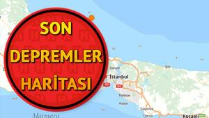 Son dakika deprem haritası: Deprem mi oldu 7 Nisan Kandilli Rasathanesi son depremler sayfası