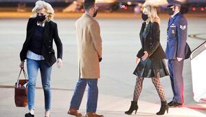 First Lady'nin kıyafeti ABDyi böldü