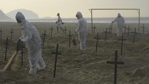 Brezilyada acı tablo: Bir günde ilk kez 4 binden fazla kişi öldü