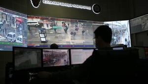 Bursada maske takmayanlar kameradan tespit edilip uyarılıyor