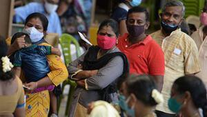 Hindistanda bir ilk: Günlük vaka rekoru kırıldı