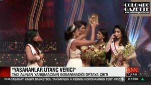 Güzellik yarışmasında skandal: Dünya sahnede taç kavgasını konuşuyor