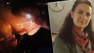 Çok acı... Babasını yanan evde sanan kadın, kalp krizinden hayatını kaybetti