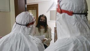 Ankarada koronavirüs filyasyon ekiplerinin yoğun mesaisi