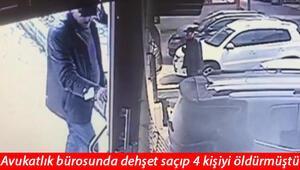 Son dakika... Kartal'da avukatlık bürosunda 4 kişiyi öldürmüştü Ahmet Salih Bilginer tutuklandı
