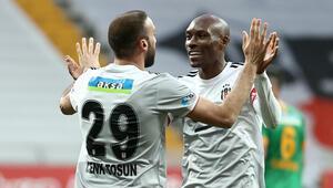 Beşiktaşta Atiba Hutchinson şov sürüyor Alanyaspor maçında 3 asist birden