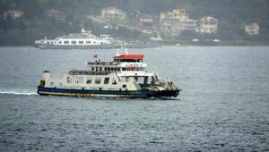 Bozcaadaya bazı feribot seferleri iptal edildi