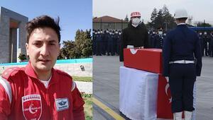Türk Yıldızlarının şehit pilotu Yüzbaşı Burak Gençcelep, memleketine uğurlandı