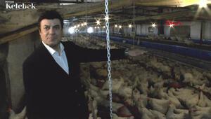 Coşkun Sabah, Eskişehirde tavuk çiftliği kurdu