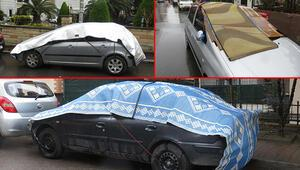 Meteorolojinin sağanak uyarısı sonrası İstanbulda dikkat çeken görüntüler Dolu ihtimali için...