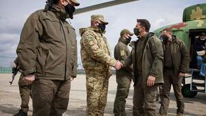 Ukrayna lideri Zelenskiyden Donbasda barış mesajı