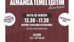 Yenişehir Belediyesi'nden ücretsiz Almanca kursu