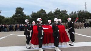 Şehit Uzman Çavuş Ahmet Akdal, memleketine uğurlandı