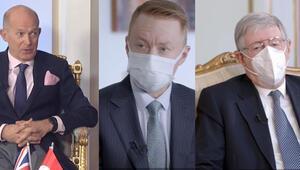 Büyükelçilerden Türkiyenin salgınla mücadelesine övgü geldi