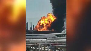 Meksika'da petrol rafinerisinde patlama