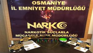 Osmaniyede uyuşturucu operasyonunda 3 şüpheli gözaltına alındı