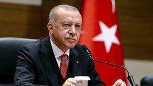 Cumhurbaşkanı Erdoğandan milli haltercilere tebrik