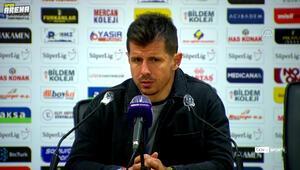 Emre Belözoğlu, Yeni Malatyaspor ile 1-1 berabere kaldıkları maçın ardından konuştu