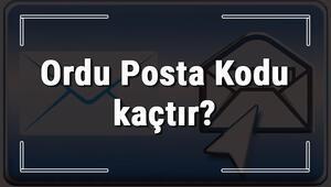 Ordu Posta Kodu kaçtır Ordu ili ve ilçelerinin Posta Kodları