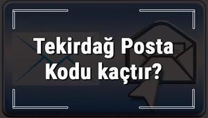 Tekirdağ Posta Kodu kaçtır Tekirdağ ili ve ilçelerinin Posta Kodları
