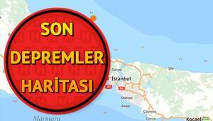 Son dakika deprem mi oldu 9 Nisan Kandilli son depremler haritası