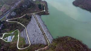 Düzce'de Hasanlar Barajı doldu