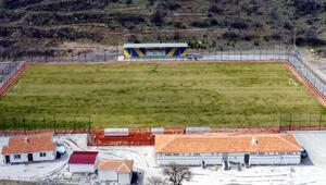 Hacılar Fevzi Mercan Stadı açılış için hazır