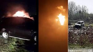 Taciz iddiası ortalığı karıştırdı Cipi yaktı, kaydetti, tehdit etti