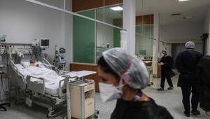 Yoğun bakımda son durum görüntülendi İstanbulda koronavirüs vakaları hızla artarken...