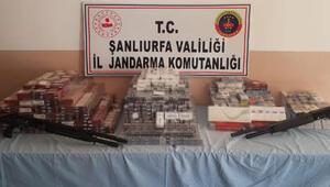 Şanlıurfada kaçak sigaraya 4 gözaltı