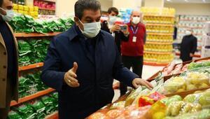 Başkan Göksu: 'İyilik Market'inde her şey var, bir tek para yok