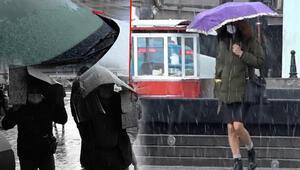 İstanbulda nisan ayında kar ve dolu sürprizi Gören şaşkına döndü...