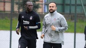 Beşiktaşta BB Erzurumspor hazırlıkları sürüyor Aboubakar...