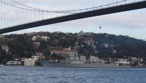 ABDnin Karadenize yollayacağı savaş gemisi daha önce de Boğazdan geçmişti