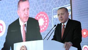 Son dakika... Cumhurbaşkanı Erdoğandan yatay mimari vurgusu