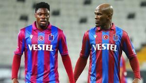 Son dakika: Trabzonsporda Nwakaeme ve Ekuban şoku