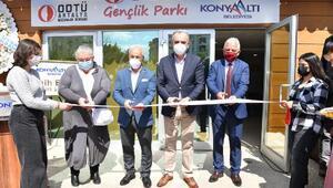 ODTÜ Gençlik Parkı Konyaaltında hizmete açıldı